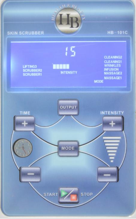Интерфейс аппарата